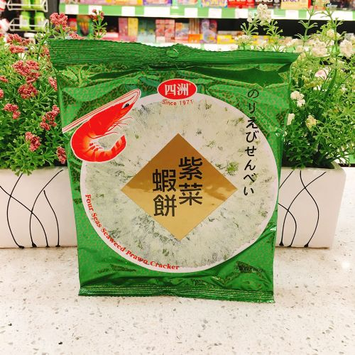 四洲紫菜虾饼36g