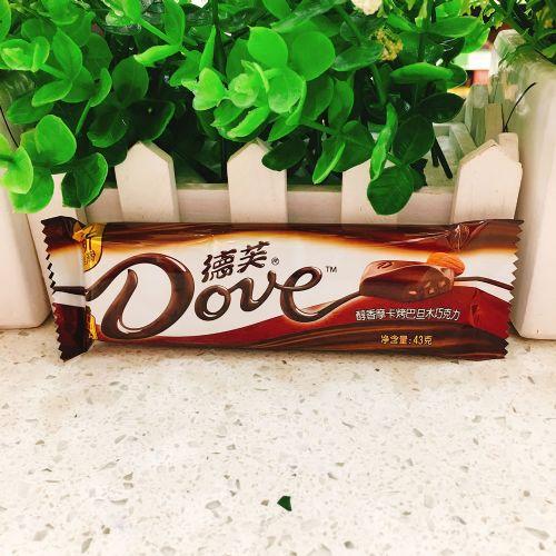 德芙醇香摩卡烤巴旦木巧克力43G