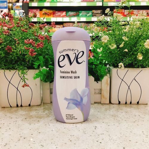 美国summer's eve夏依女性专用洗液敏感肌肤 237ml