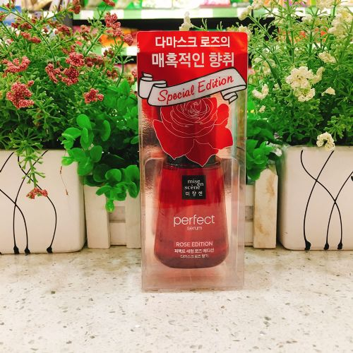 韩国爱茉莉免洗护发精油70g(红色玫瑰味)星星发油