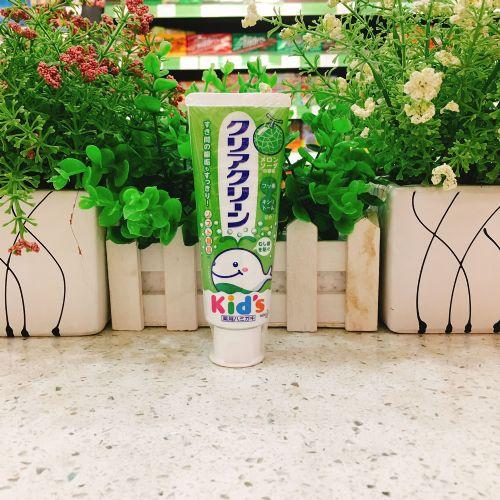 日本花王木糖醇儿童牙膏70g(哈密瓜味)