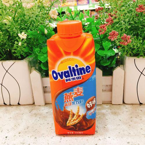 阿华田燕麦麦芽乳饮料(巧克力味)330ml