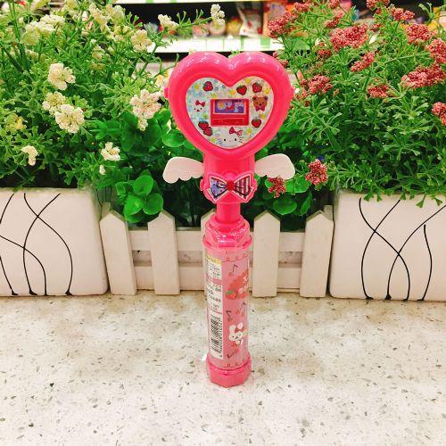 日本Weed Hello Kitty 心形棒玩具果子5g(袋装)