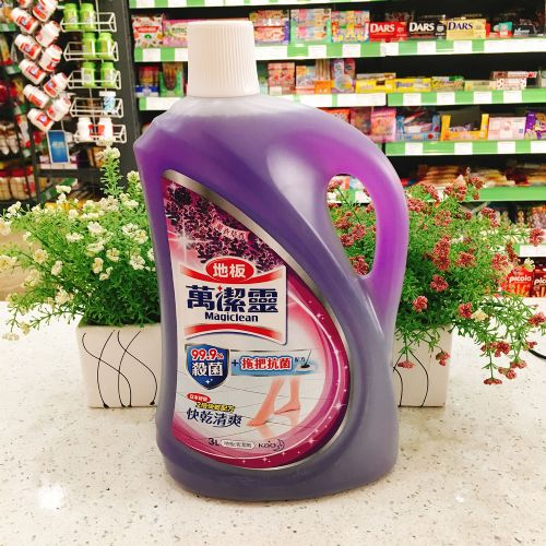 万洁灵地板清洁剂(薰衣草味)3L