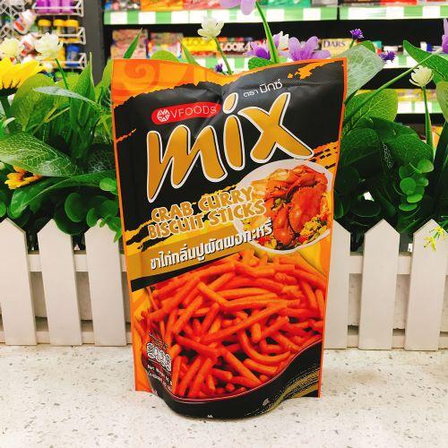泰国VFOODS MIX脆脆条咖喱蟹味60g