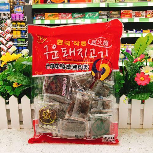 香港铁尺什锦味韩烧猪肉干260g