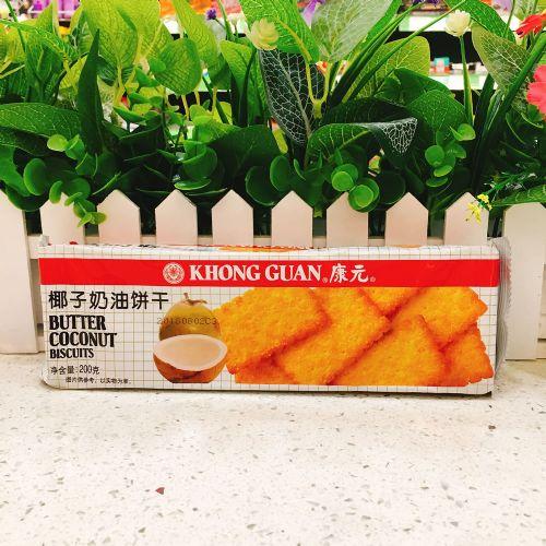 康元椰子奶油味夹心饼干200g