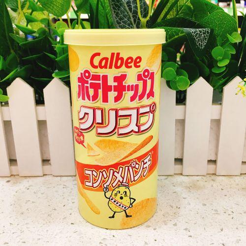 日本卡乐B清汤薯片50g(筒装)