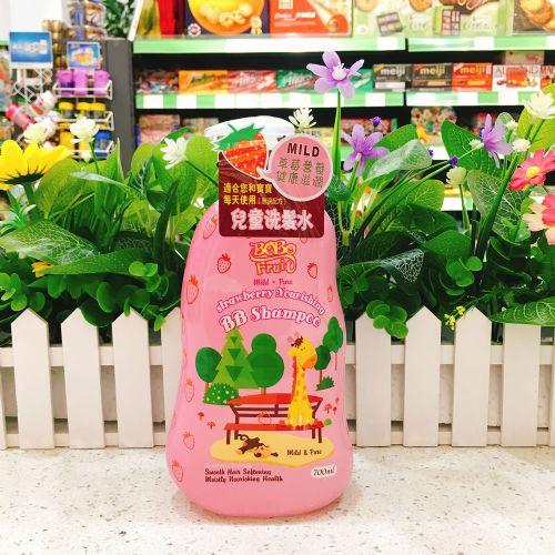 香港抱抱果儿婴儿洗发水700ml(草莓味)
