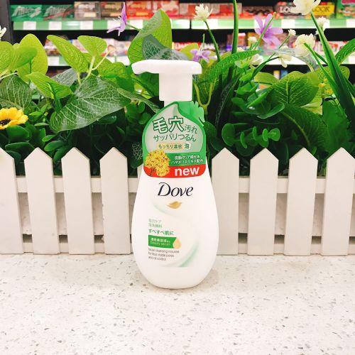 日本多芬清爽控油泡沫洗面奶160ml