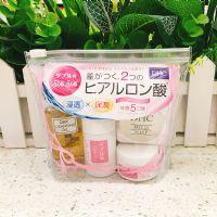 日本DHC玻尿酸双重保湿水润 旅行四件套 双重分子渗透保湿