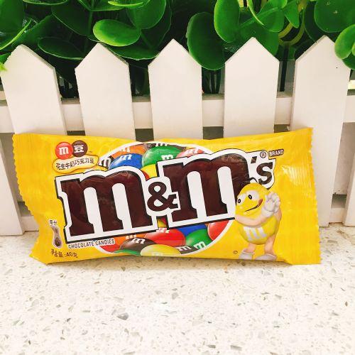 M&M花生牛奶朱古力豆袋装40g