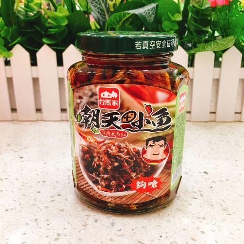 台湾台熙家朝天小鱼380g