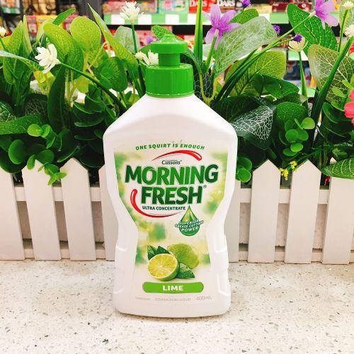 澳洲Morning Fresh超浓缩洗洁精 高效生态环保400ml青柠味