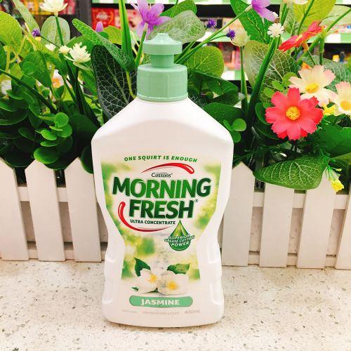 澳洲Morning Fresh超浓缩洗洁精 高效生态环保400ml茉莉花味