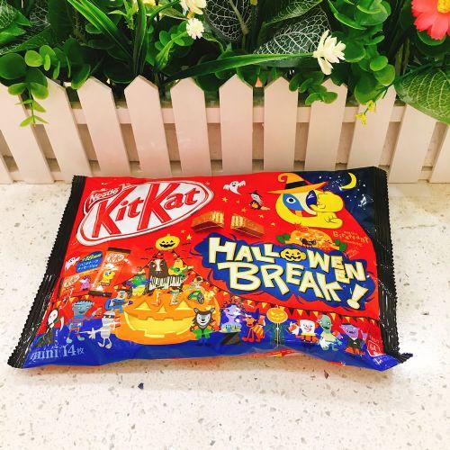 万圣节版雀巢KitKat巧克力(巧克力味)13枚