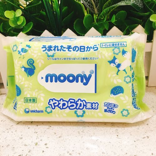 尤尼佳柔软型婴儿宝宝湿巾纸80片