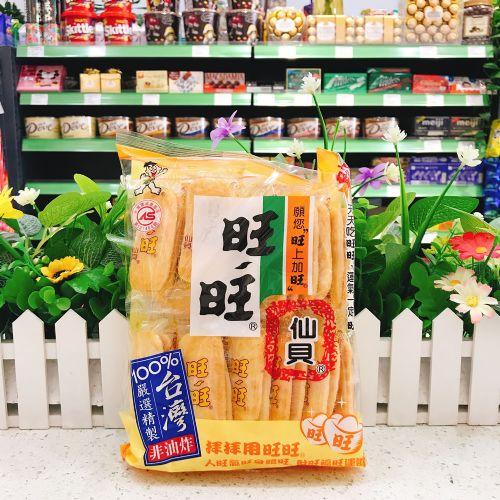台湾旺旺仙贝112g