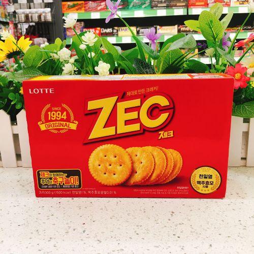 韩国乐天ZEC咸味饼干300g
