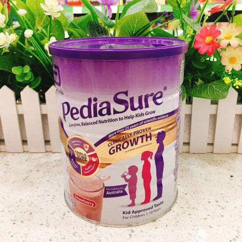 澳洲Abbott雅培金装小安素婴幼儿助长奶粉850g(草莓味)