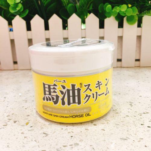 日本LOSHI北海道马油膏面霜高保湿补水祛痘淡斑220g