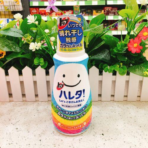 日本狮王晴天彩虹洗衣液425g