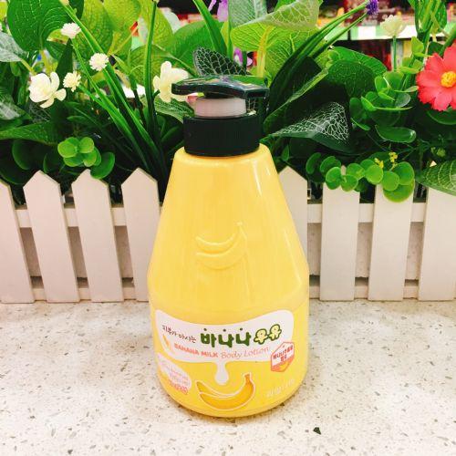 韩国水果之乡香蕉牛奶润肤乳560g