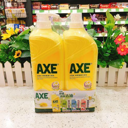 斧头牌AXE柠檬护肤洗洁精1300g×2