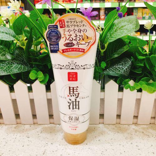 日本lishan马油身体乳樱花保湿精华身体乳润肤霜
