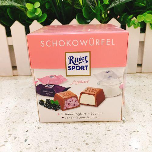 德国斯波德运动巧克力礼盒(粉色)草莓蓝莓味22粒