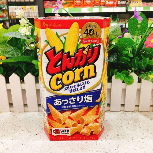 日本House盐味粟米筒75g(六角盒)