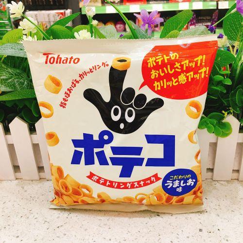 日本桃哈多盐味手指薯圈78g(袋装)