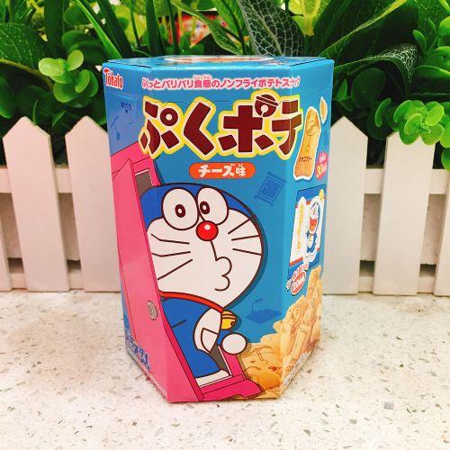 日本桃哈多TOHATO哆啦A梦罐心饼干20g