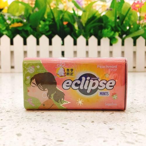 Eclipse易极薄荷糖(水蜜桃味)冬季限定版34g