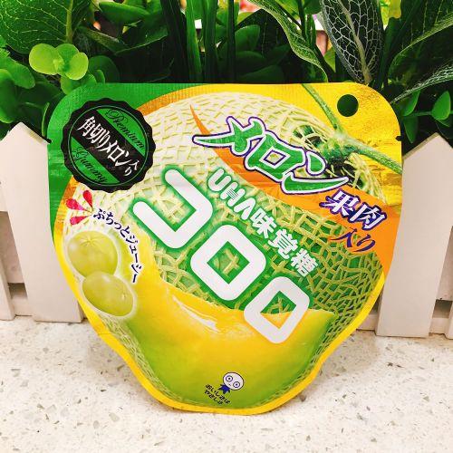 日本UHA悠哈味觉蜜瓜软糖40g(企袋)