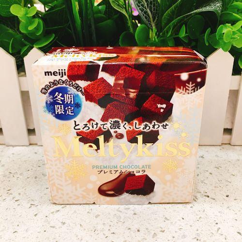 日本明治Meltykiss雪吻巧克力(香兰味)60g