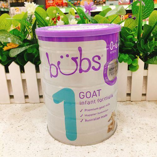 澳洲BUBS贝儿婴儿配方羊奶粉1段800g