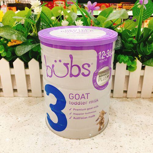 澳洲BUBS贝儿婴儿配方羊奶粉3段800g
