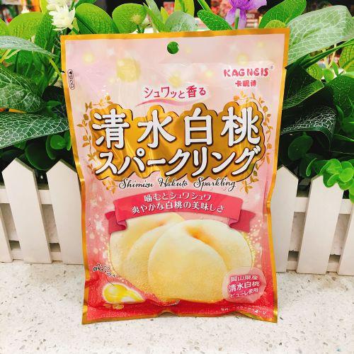 日本卡昵诗水蜜桃夹心糖77.4g