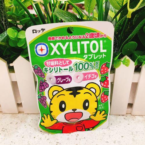日本乐天2岁提子草莓糖30g(袋装)