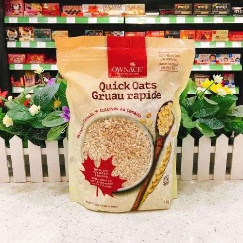 加拿大OWNACE即食燕麦片1kg