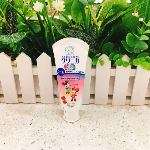 狮王LION儿童牙膏(草莓味)60g