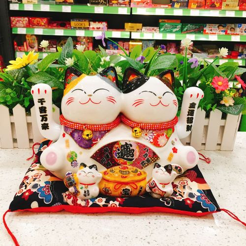 日本福缘猫五福临门FY35908