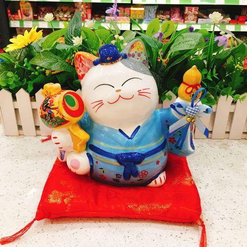 日本福缘猫良缘吉祥猫FY35836