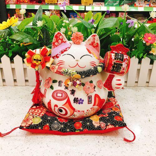 日本福缘猫富贵有余9寸猫FY86884