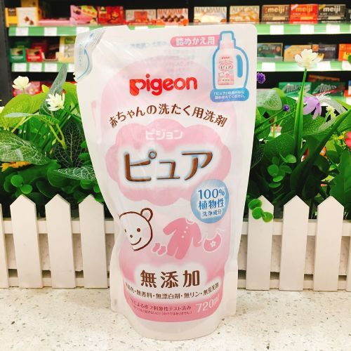 日本贝亲婴儿专用洗衣液(替换装)720ml