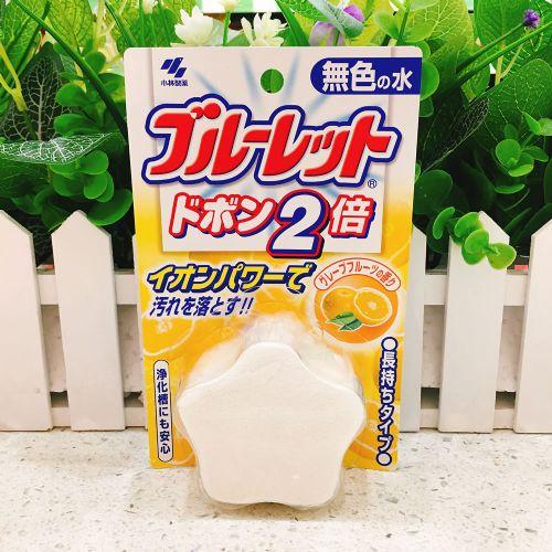 日本小林制药马桶清洁块120g(西柚味)
