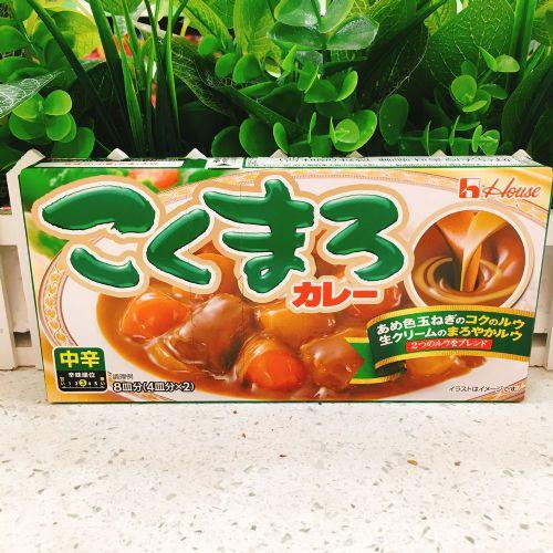 日本好侍特浓香味咖喱调味料(微辣味)140g