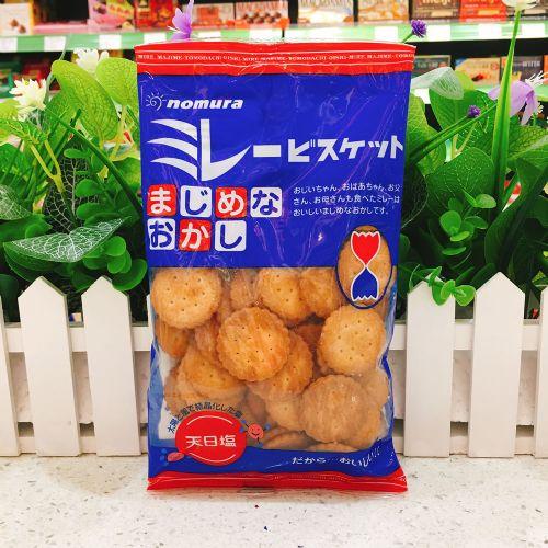日本村野小圆饼130g