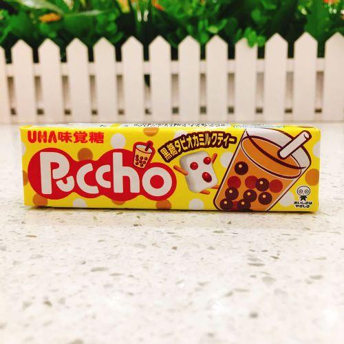 日本UHA悠哈味觉糖奶茶味软糖50g(条装)